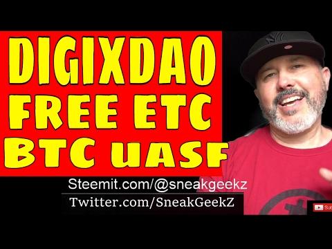 Digixdao Giving Away ETC.. Ethereum Price Going Up... Bitcoin Block Size Debate UASF, Bip148