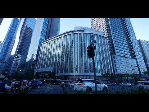 【4K】Rush Hour in Makati City Part 1