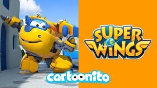 Super Wings | Train Trouble | Cartoonito UK