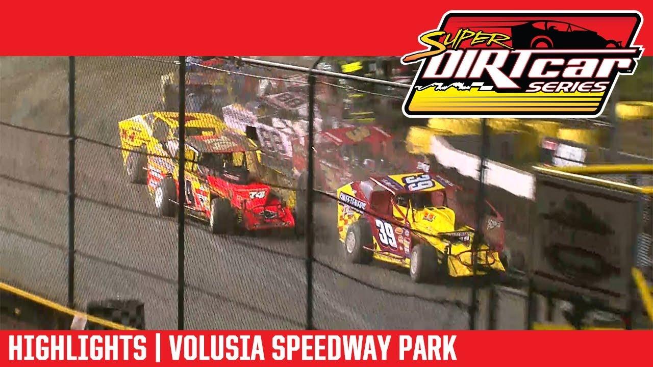 Super DIRTcar Series Big Block Modifieds Volusia Speedway Park February 15th, 2018 | HIGHLIGHTS