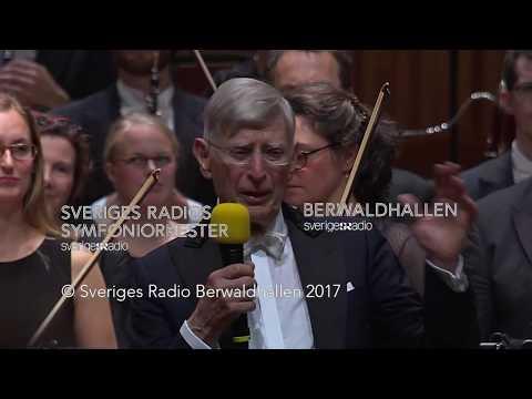 Firande av nittioårsjubilerande Herbert Blomstedt i Berwaldhallen, 8 september 2017