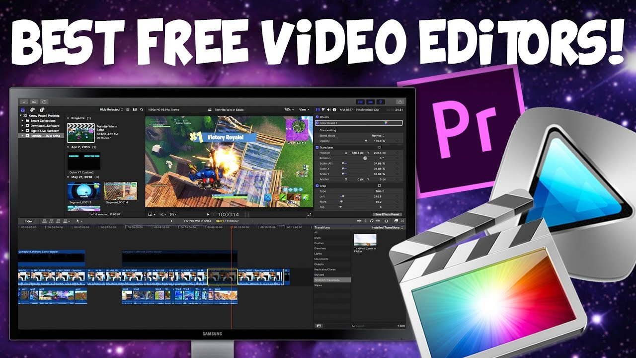 How To Download Free Video Editing Software Best Free Software 2019 Youtube