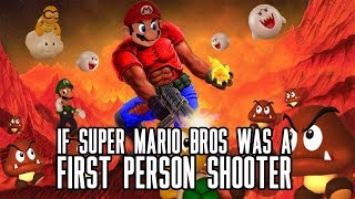 The Super 1-1 Challenge - If Super Mario Bros Was An FPS