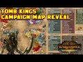 Tomb Kings Map Reveal: Starting Positions - Khalida, Settra, Arkhan, Khatep | Total War: Warhammer 2
