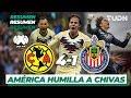 Resumen Y Goles   América 4 -  1 Guadalajara   Liga Mx -  AP 19 -  J12   TUDN