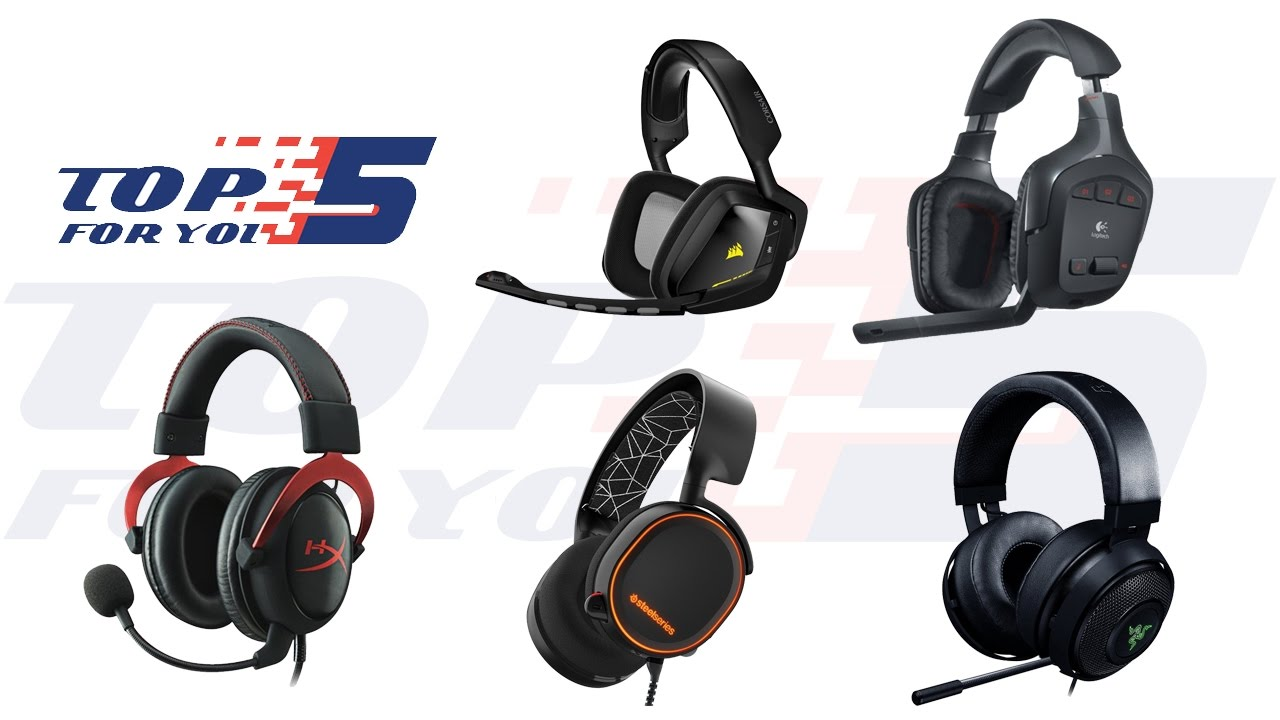 Top 5 Best Gaming Headset Under 100 Dollars 2017 - 2018 - YouTube