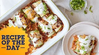 Recipe of the Day: Healthy Zucchini Enchiladas | Food Network