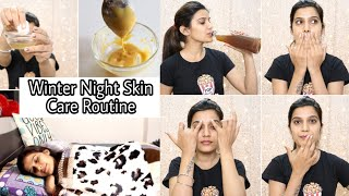 WINTER SKIN CARE ROUTINE- Night Time All Skin Types | For clear Spotless Skin | Super Style Tips