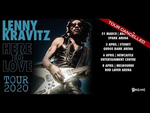 Lenny Kravitz | Newcastle Entertainment Centre | 2020