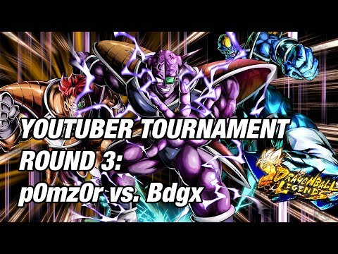 INTENSE! YouTuber's Tournament Of Power Vs. Bdgx [Dragon Ball Legends]