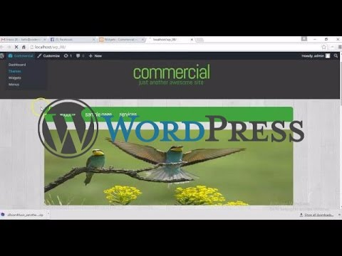 Commercial template develop to WordPress | Part-WP1