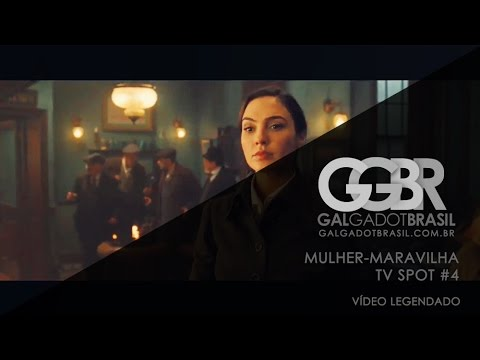 Mulher-Maravilha: TV Spot #4 [HD] (Legendado)