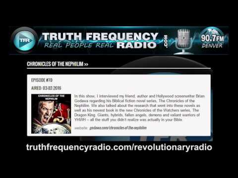 TFR - Revolutionary Radio with Brian Godawa: Nephilim Giants, Movies and More