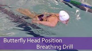 Butterfly Head Position Breathing Drill