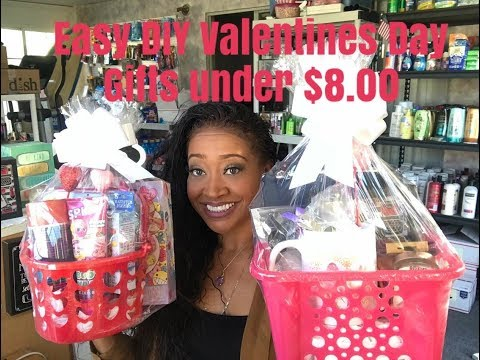 Affordable DIY Valentines Day Gifts. using Dollar Tree 99 cent only store & clearance under $10.00