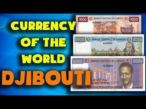 Currency Of The World - Djibouti. Djiboutian Franc. Exchange Rates Djibouti.Djiboutian Banknotes