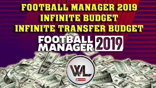 Football Manager 2019 Trainer - Infinite Budget - Infinite Transfer Budget