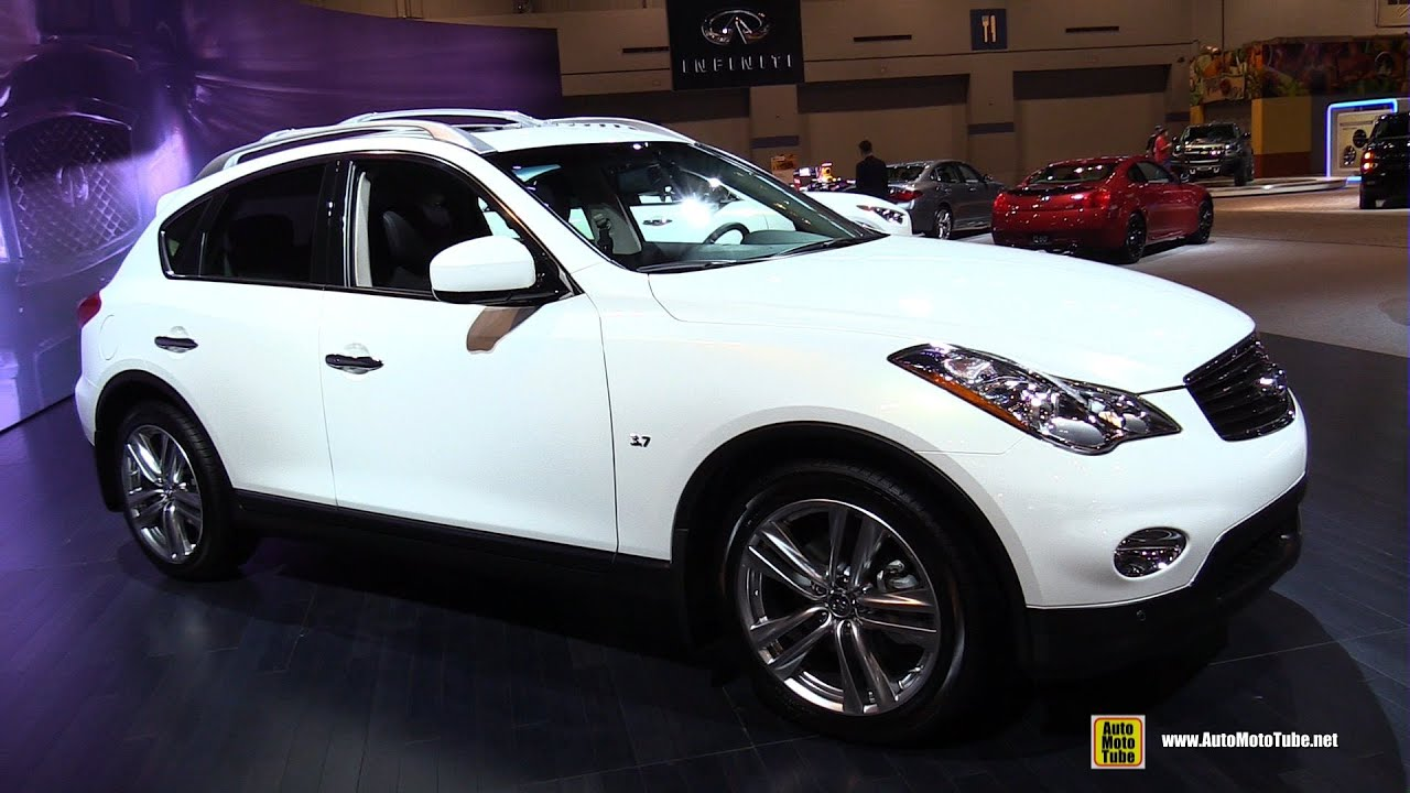 2015 infiniti qx50 exterior and interior walkaround 2015 chicago auto show youtube