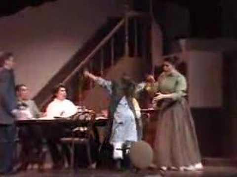 Helen Keller dinner then THE MIRACLE