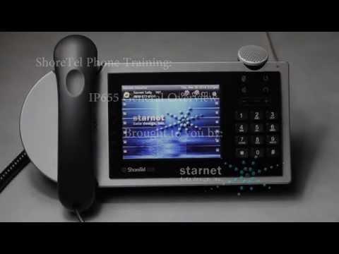 ShoreTel IP 655 Phone Overview