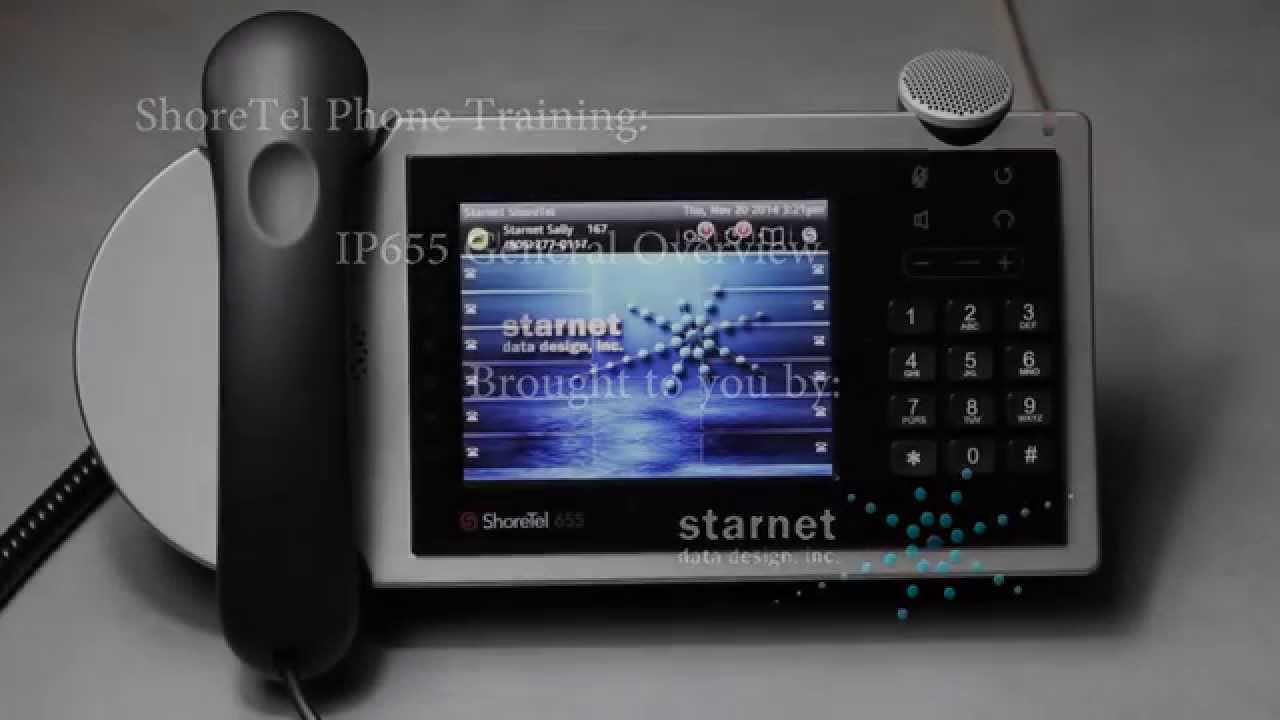 shoretel ip phone 655