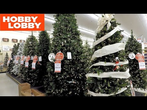 Hobby Lobby All Christmas Trees Christmas Shopping Decorations