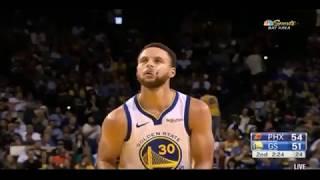 Phoenix Suns Vs Golden State Warriors NBA PRE-SEASON 2018-2019 GAME 2nd Quarter Highlights