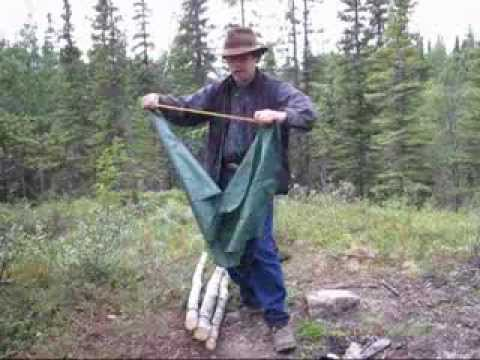 A Simple Homemade Camping Chair