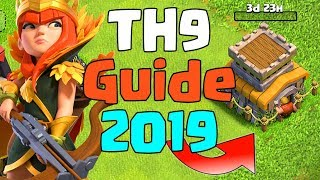 TH9 UPGRADE GUIDE PRIORITY LIST 2019 | CLASH OF CLANS