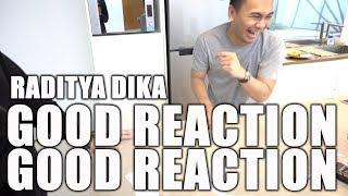 Reaksi Raditya Dika
