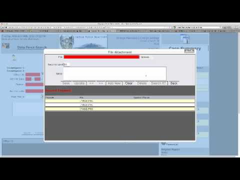 Public Safety Software by ADSi - Investigative Case Management Module