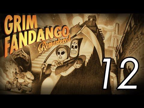 Let's Play Grim Fandango [12] Wine cellar