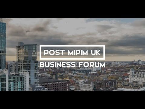 huddled Interviews at the Post MIPIM UK Business Forum