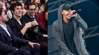 Famous People React/Notice NF (Logic, Shawn Mendes, G-Eazy and more)