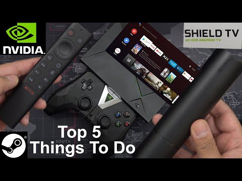 2019 NVIDIA SHIELD TV / TV Pro Top 5 Things To Do When You Get It (Tips And Tricks) Android TV