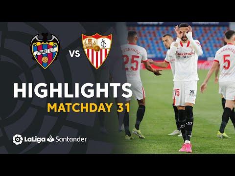 Levante Sevilla Goals And Highlights