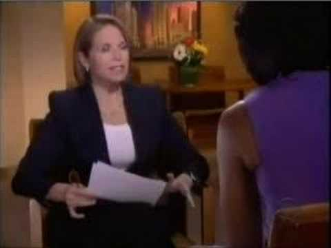 Michelle Obama, interviews with Katie Couric