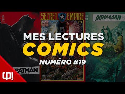 MES LECTURES COMICS #19 : MARS 2018 (1/2)
