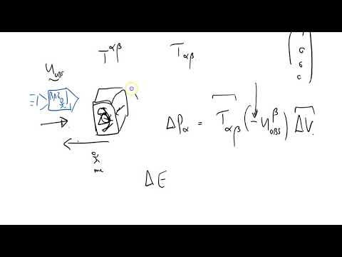 GRSS 106 stress energy tensor part thirteen