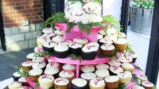 видео Свадебный торт с капкейками