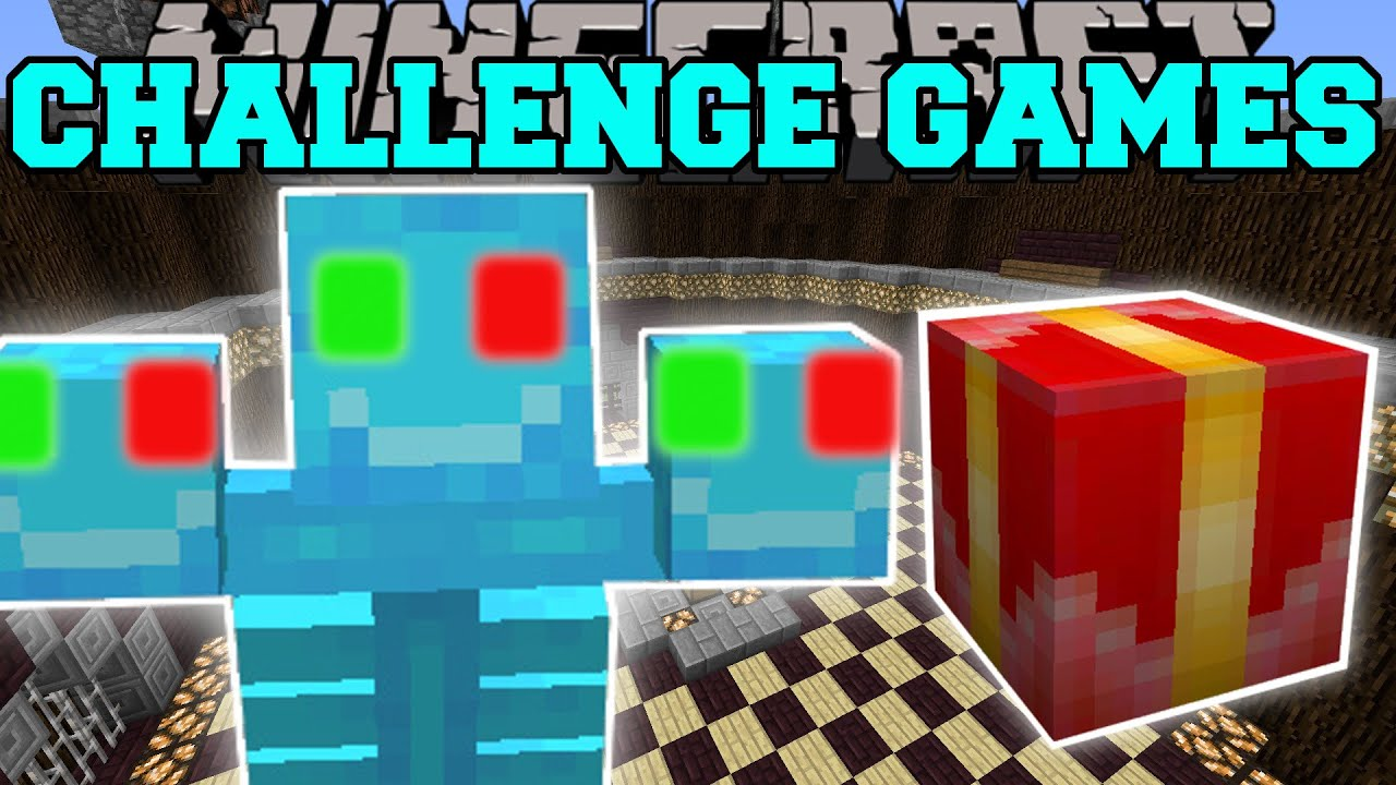 Minecraft: XMAS WITHER CHALLENGE GAMES - Lucky Block Mod - Modded ...