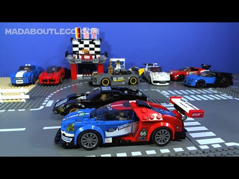 LEGO Speed Champions 2016 Ford GT & 1966 Ford GT40 - YouTube