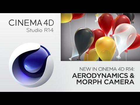 ... Dynamic Balloons With New Aerodynamics & Morph Camera in Cinema 4D R14
