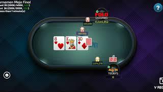 Juara 1 turnamen poker 50 juta!!!