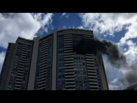BREAKING NEWS: Honolulu apartment tower fire kills at least three as firefighters battle blaze