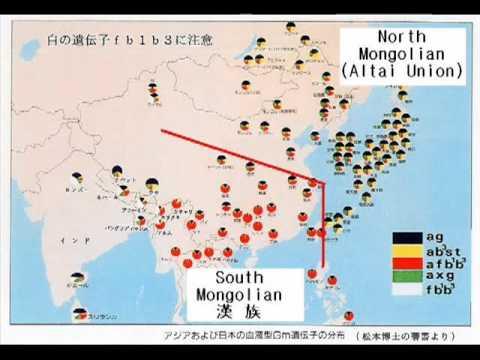 Southern Chinese Vs Northern Chinese Asian DNA Map Chinese Tonal - China language map