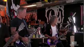 metallica rocking out on twitch