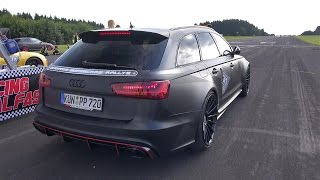 750HP Audi RS6 Avant PP-Performance 1/4 Drag Race 10,94s