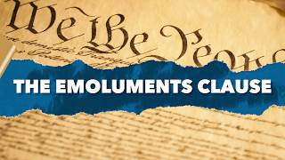 Legalese: John Mikhail on Emoluments
