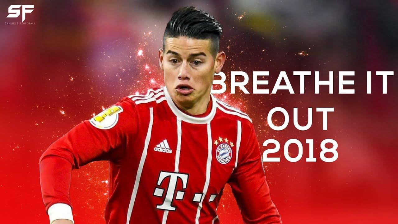 Download James Rodriguez ● Breathe It Out 2017/18 ● Goals, Skills & Assists | HD